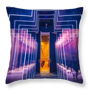 Illuminated Cross Throw Pillow