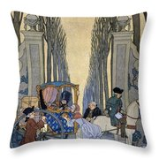 Illustration From 'les Liaisons Dangereuses'  Throw Pillow