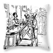 Immigrants: Irish, C1885 Throw Pillow