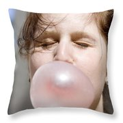 Impending Boom Throw Pillow