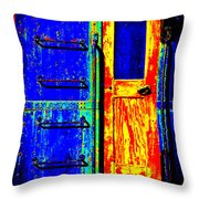Impressionistic Photo Paint Gs 017 Throw Pillow