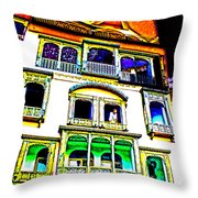 Impressionistic Photo Paint Ls 004 Throw Pillow