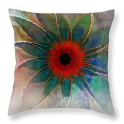In Glass Throw Pillow