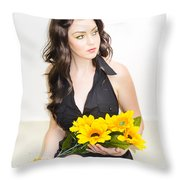 In Love And Waiting Throw Pillow