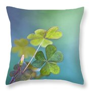 In Love With Nature Throw Pillow