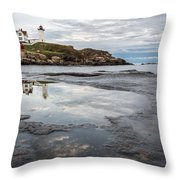 In The Beginning Throw Pillow by Jon Glaser
