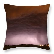 In The Belly Of The Beast Throw Pillow