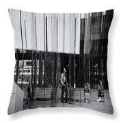 In The Glasshouse Throw Pillow