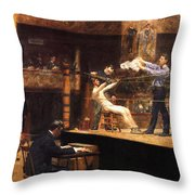 In The Mid Time Throw Pillow