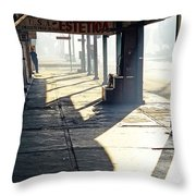 In The Shadows Of Mexicali Throw Pillow