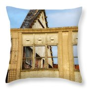 Industrial Building Throw Pillow