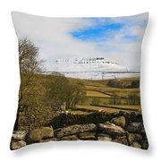 Ingleborough Throw Pillow by Susan Leonard