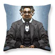 Inner Lincoln Throw Pillow