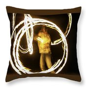 Inner Struggle Throw Pillow
