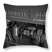 International 300 Utility Harvester Throw Pillow