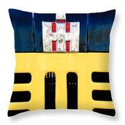 International Grille Emblem Throw Pillow