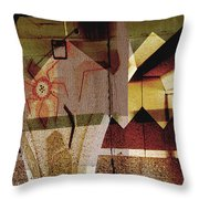 Interstate 10- Exit 259a- 29th St / Silverlake Rd Underpass- Rectangle Remix Throw Pillow