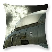 Into The Clouds Throw Pillow