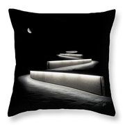 Into The Night II Throw Pillow