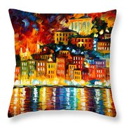 Inviting Harbor Throw Pillow