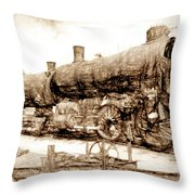 Iron Horse Boneyard Throw Pillow