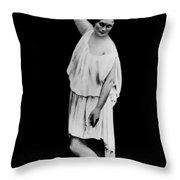 Isadora Duncan (1877-1927) Throw Pillow