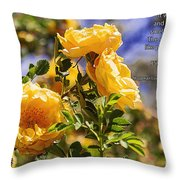 It Was June Throw Pillow