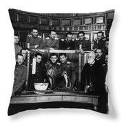 Ivan Petrovich Pavlov Throw Pillow