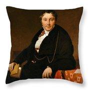 Jacques-louis Leblanc Throw Pillow