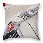 Jaguar Emblem Throw Pillow