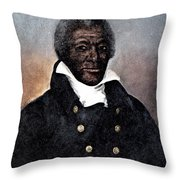 James Armistead Lafayette Throw Pillow