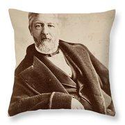 James G Throw Pillow