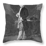 James Otis (1725-1783) Throw Pillow