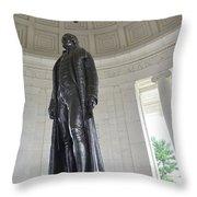 Jefferson Memorial # 6 Throw Pillow