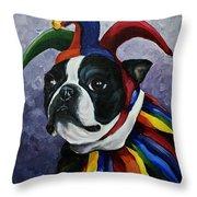 Jester II Throw Pillow