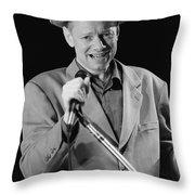 Joe Jackson Throw Pillow