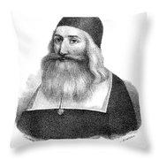 John Clark (1598-1664) Throw Pillow