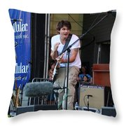 John Mayer And Robbie Mcintosh  Taste Of Chicago Throw Pillow