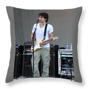 John Mayer  Taste Of Chicago Throw Pillow