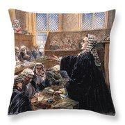 John Peter Zenger Trial Throw Pillow