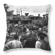 Jonathan Wild (c1682-1725) Throw Pillow