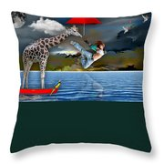 Journey Throw Pillow by Marvin Blaine