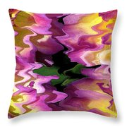 Jowey Gipsy Abstract Throw Pillow