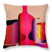 Jugs 4 Throw Pillow