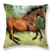 Jump Jump Throw Pillow