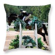 Jumper102 Throw Pillow