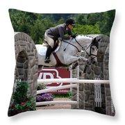 Jumper106 Throw Pillow