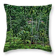 Jungle Life Throw Pillow