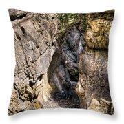 Jura Canyon Throw Pillow