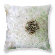 Just A Dandelion Throw Pillow